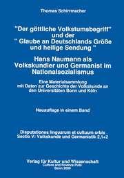 Der göttliche Volkstumsbegriff /Glaube... Sammelband