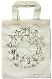 """Baumwolltasche """"Jesus liebt alle Kinder der Welt"""""""