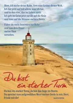 Postkarten: Du bist ein starker Turm, 12 Stück