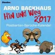 Hin und weg 2017 - Arno Backhaus