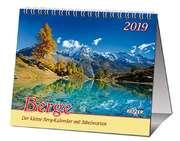Berge 2019 - 2 in 1-Tischkalender