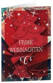 Frohe Weihnachten - CD-Card