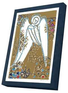 """Kunstkarten-Set """"Goldener Engel"""""""