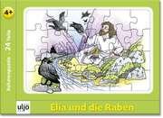 """Rahmenpuzzle """"Elia und die Raben"""""""
