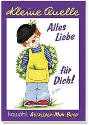 "Aufkleber-Mini-Buch ""Alles Liebe für Dich!"""