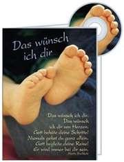 Das wünsch ich dir - CD-Card GEBURT